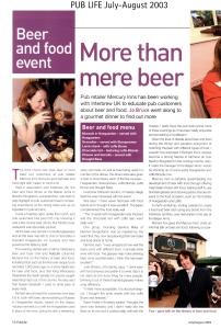 i Interbrew Beer & Food event pl 0703 58